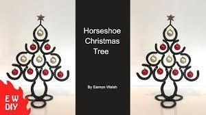 horseshoe tree ornament shoe ornaments