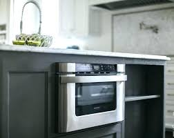 microwave in island in kitchen microwave in island built in microwave for cabinet kitchen island