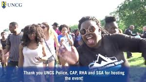 uncg community cookout youtube