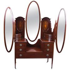 edwardian bedroom furniture for sale early 20th century edwardian mahogany triple mirror dressing table