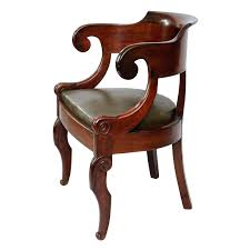 Small Mahogany Desk Mahogany Desk Chair Empire Period Mahogany Desk Chair Circa