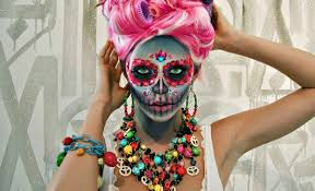 Colorful Halloween Makeup by The 15 Best Sugar Skull Makeup Looks For Halloween Halloween