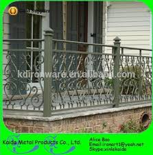 cheap exterior ornamental cast iron balcony and wrought iron