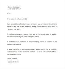 landlord reference letter template 10 samples examples u0026 formats