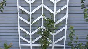 how to chevron garden trellis make