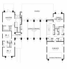 home plan modern one level living startribune com