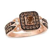 diamond rings square images Le vian chocolate diamonds 7 8 ct t w diamond square frame ring jpg