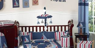 Outdoor Themed Baby Room - bedding set outdoor seat cushion design beautiful nautical