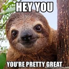 Sloth Meme Maker - sloth meme hey pretty meme best of the funny meme