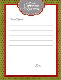 write a letter to santa free template special needs essays
