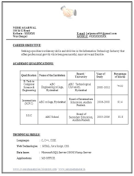 bca resume format for freshers pdf to word sle resume for freshers pdf free resume template download