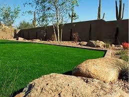 Arizona Backyard Ideas Fake Grass Yuma Arizona Landscape Design Backyard Garden Ideas
