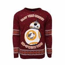 sweater wars bb 8 jumper sweater numskull