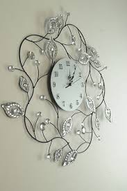 beautiful large decorative wall clocks home decorations insight