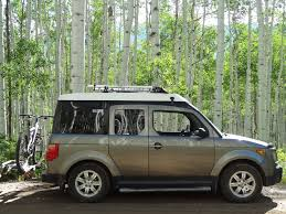 honda cube fifth element camping gear we use