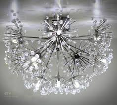 ac220 240v crystal ceiling lights 9 15pcs g4 halogen led bulbs