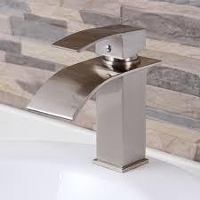 waterfall faucet for bathroom sink waterfall faucet bathroom vanity best bathroom decoration