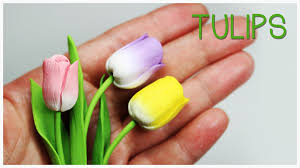 mothers day stuff polymer clay tulips tutorial s day project