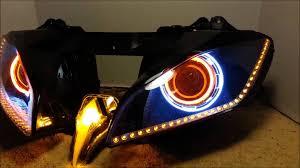yamaha r6 halo lights 26 2006 2014 yamaha r6 hid projector headlights bixenon dual angel