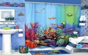 Nemo Bathroom Beach Theme Bathrooms Beach Themed Bathroom Shelves Yellow
