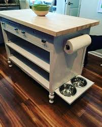 diy kitchen island from dresser best 25 dresser kitchen island