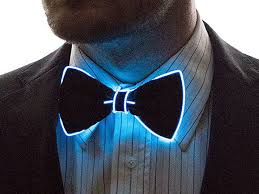 light up bow tie light up bow tie blue joyus