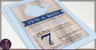 whale baby shower invitations rustic nautical baby shower invitations