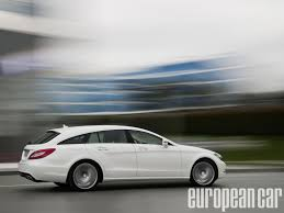 family car side view mercedes benz cls shooting brake engine packages european car