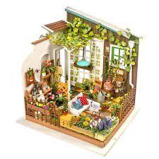 Free Miniature Dollhouse Plans Beginner by Dollhouse Miniature Kits Ebay