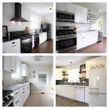 how to accessorize a grey and white kitchen white kitchen cabinets 4 ways revival designs