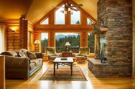 log cabin living room decor log cabin living rooms 17