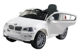jeep cars white new bmw x6 electric battery kids ride on car parental control