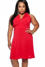 Red Cocktail Dress Plus Size Red Versatile One Shoulder Plus Size Party Dress