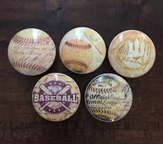 themed knobs 1 5 inch baseball themed knobs cabinet knobs drawer pulls