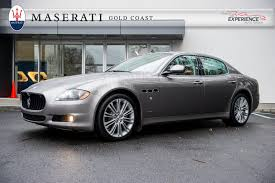 used maserati quattroporte used gray 2012 maserati quattroporte s 4 7 for sale gold coast