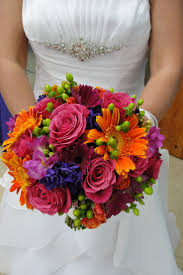 55 best bouquets pink and orange images on pinterest bridal