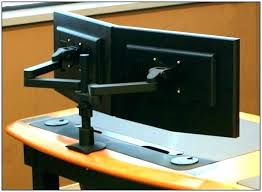 Dual Monitor Computer Desks Dual Monitor Computer Desk Monitor Desk Beautiful Dual