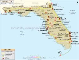 map usa florida list of museums in florida florida museum map