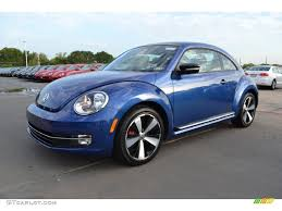 volkswagen bug 2013 reef blue metallic 2013 volkswagen beetle turbo exterior photo