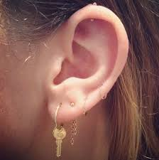 earrings on top of ear 444 best inspiration piercings images on earrings