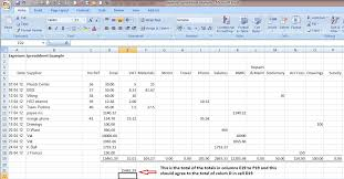 Free Accounting Spreadsheets by Business Spreadsheet Of Expenses And Income 4 Simple Accounting
