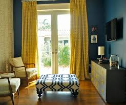 Teal And Yellow Curtains The Way To Brighten Up A Room With Yellow Curtains