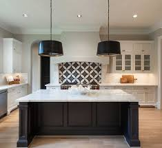 backsplash for black and white kitchen 41 best kitchen images on kitchens kitchen