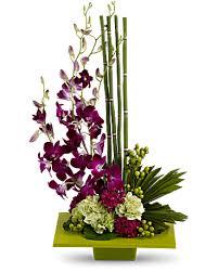 Floral Arrangement Zen Artistry Flower Arrangement Teleflora