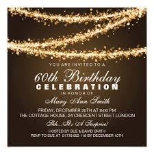 most popular 60th birthday party invitations custominvitations4u com
