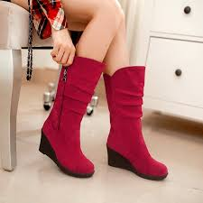 womens boots in style 2017 price us 22 39 shoes 2017 mid calf boots style