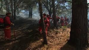 Wildfire Winters California by California Inmates Help Battle Raging Wildfires Ktxs