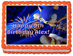 sonic the hedgehog cake topper sonic the hedgehog cake topper compare prices at nextag