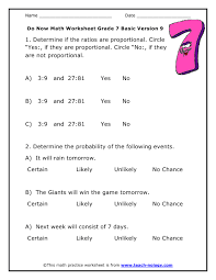probability math worksheets free worksheets library download and