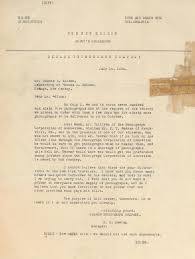 Business Deal Letter by Lot Detail Thomas Edison Collection Of 6 Signed Letters